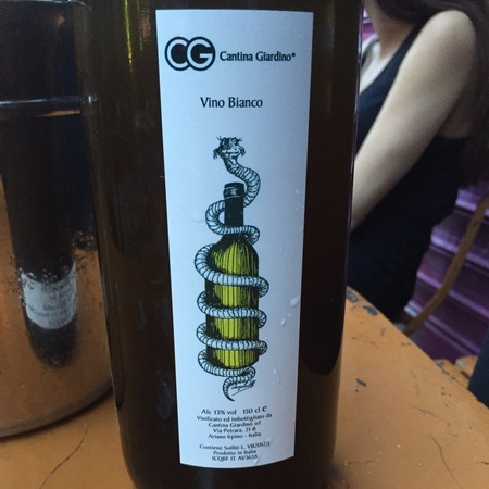 Cantina Giardino Vino Bianco 2016 (1500ml)