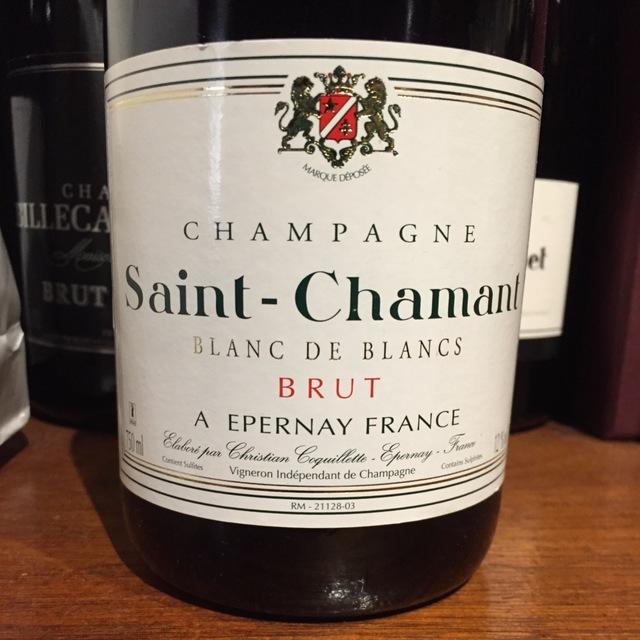 Brut Blanc de Blancs Champagne Chardonnay NV