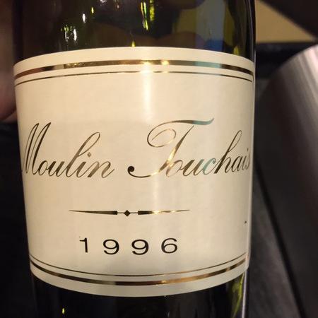 Moulin Touchais Coteaux du Layon Chenin Blanc 1996