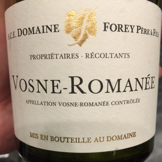 Vosne-Romanée Pinot Noir 2013 (1500ml)