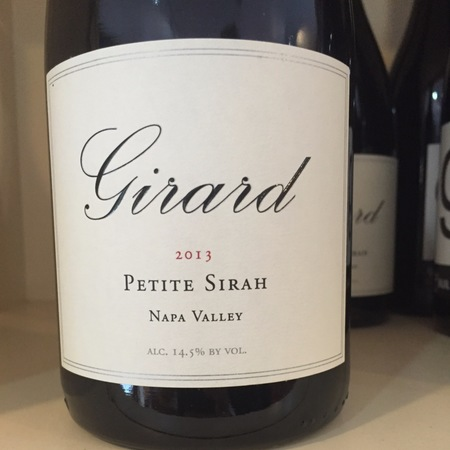 Girard Winery Napa Valley Petite Sirah 2013