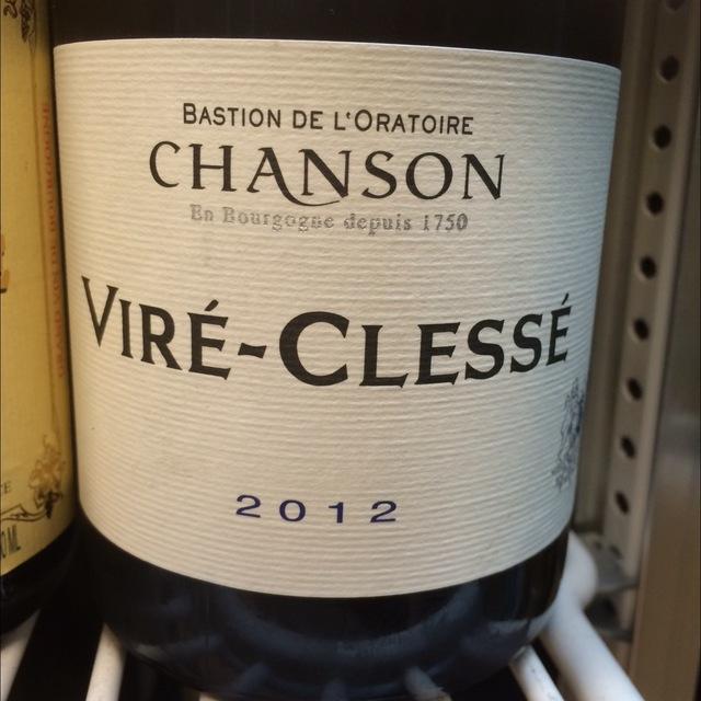 Viré-Clessé Chardonnay 2014 (750ml 6bottle)