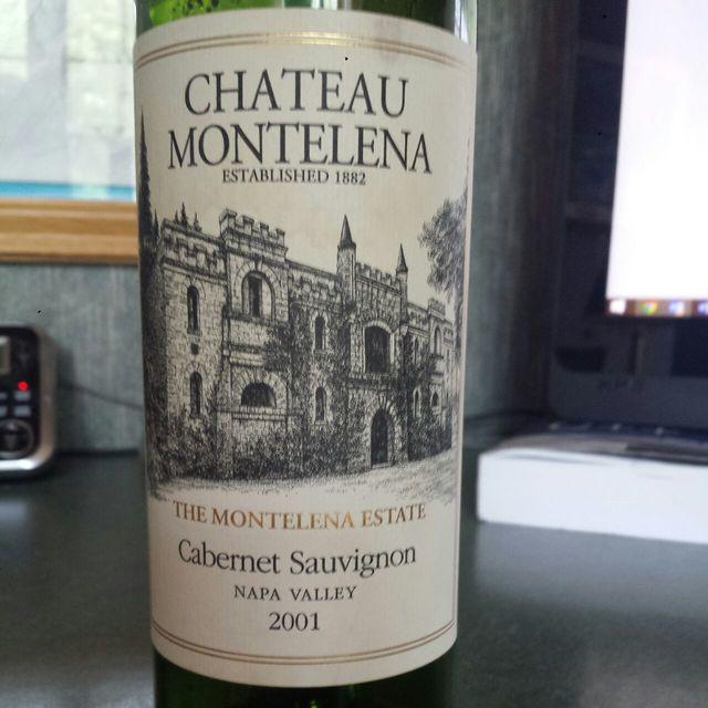 Estate Bottled Napa Valley Cabernet Sauvignon 2001 (375ml)