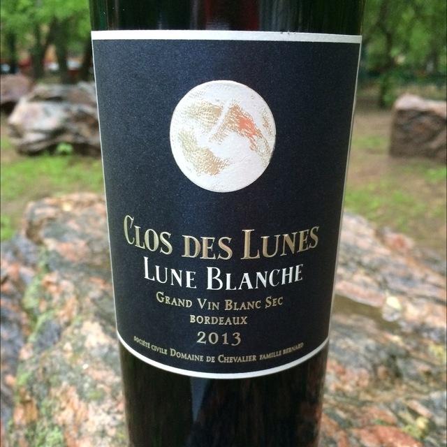 Clos des Lunes Lune Blanche Bordeaux Blanc Sec White Bordeaux Blend 2013