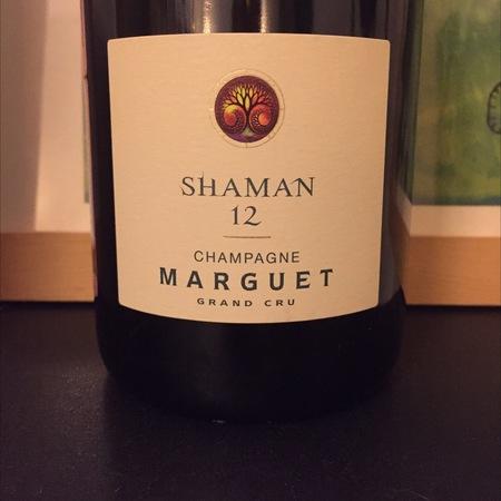 Marguet Père et Fils Shaman 12 Marguet Champagne Grand Cru Pinot Noir Chardonnay  2012