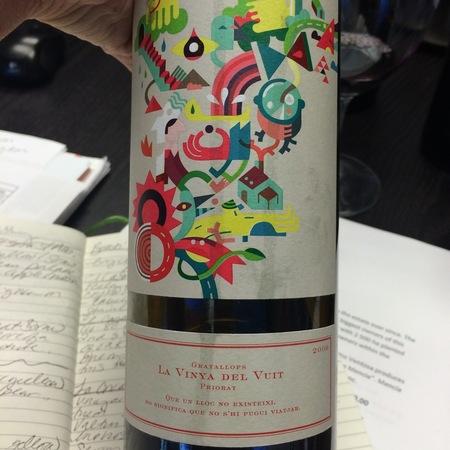 La Vinya del Vuit Gratallops Priorat Cariñena Blend 2009
