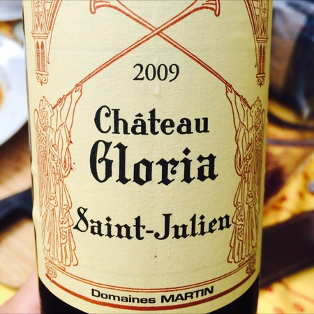 Château Gloria  Saint-Julien Red Bordeaux Blend 2009