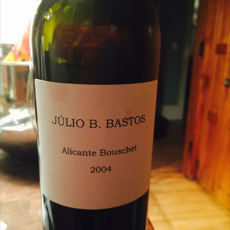 Júlio Bastos Alentejo Alicante Bouschet 2004