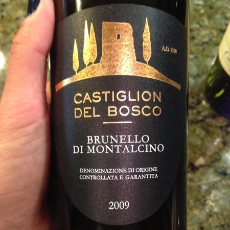 Castiglion del Bosco Brunello di Montalcino Sangiovese 2012