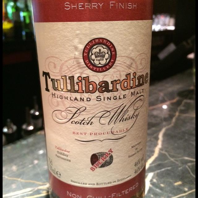 Sherry Finish Highland Single Malt Scotch Whisky  NV