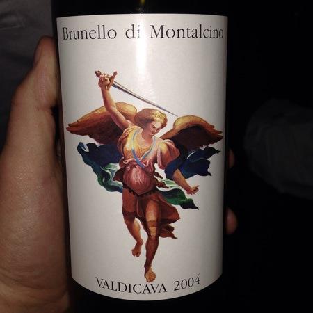 Valdicava Brunello di Montalcino Sangiovese 2004