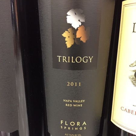 Flora Springs Trilogy Napa Valley Cabernet Sauvignon Blend 2014