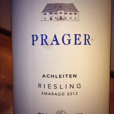 Prager Achleiten Smaragd Riesling 2012