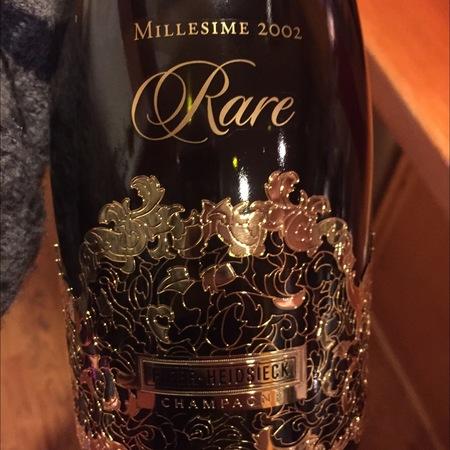 Piper-Heidsieck Rare Champagne Blend  2002