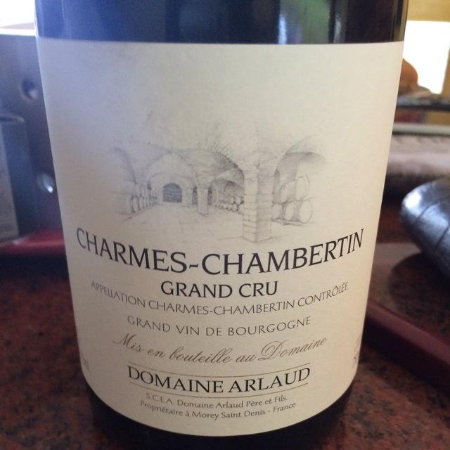 Charmes-Chambertin Grand Cru Pinot Noir 2000