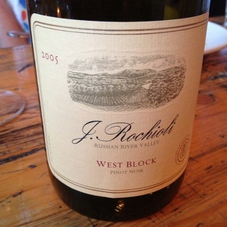 Rochioli West Block Pinot Noir 2008