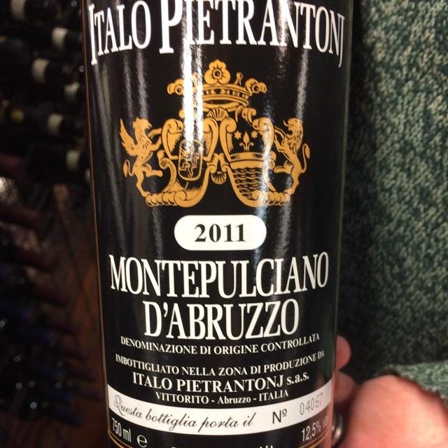 Montepulciano d'Abruzzo  2011