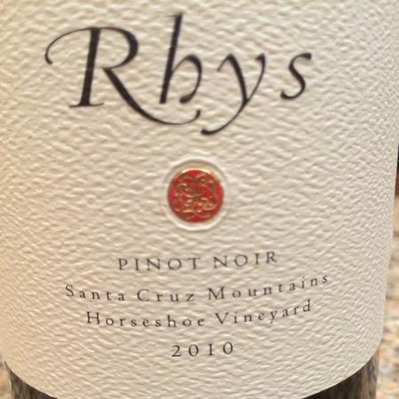 Rhys Vineyards Horseshoe Vineyard Pinot Noir 2010