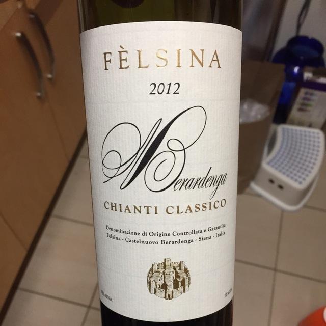 Chianti Classico Sangiovese Blend 2012