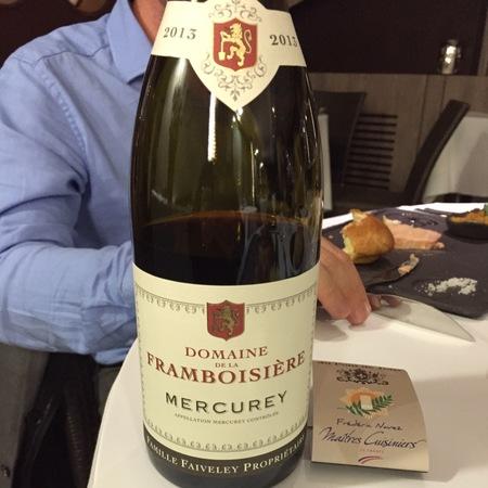 Domaine Faiveley (Joseph Faiveley) Mercurey Pinot Noir 2013