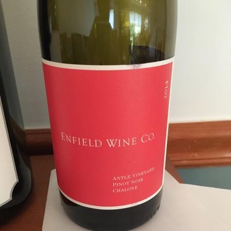 Enfield Wine Co. Antle Vineyard Pinot Noir  2014