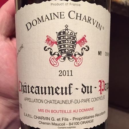 Domaine Charvin Châteauneuf-du-Pape Red Rhône Blend 2013