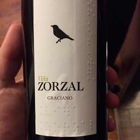 Viña Zorzal Navarra Graciano 2015