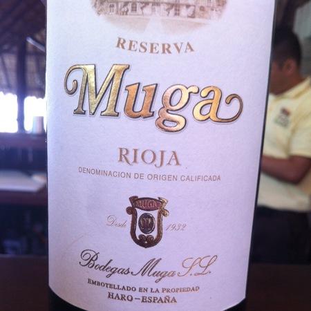 Bodegas Muga Reserva Rioja Tempranillo