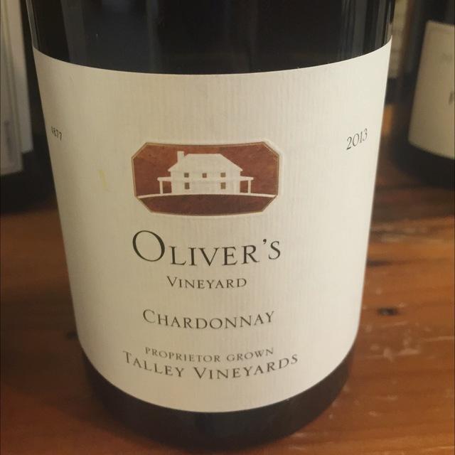 Oliver's Vineyard Chardonnay 2013