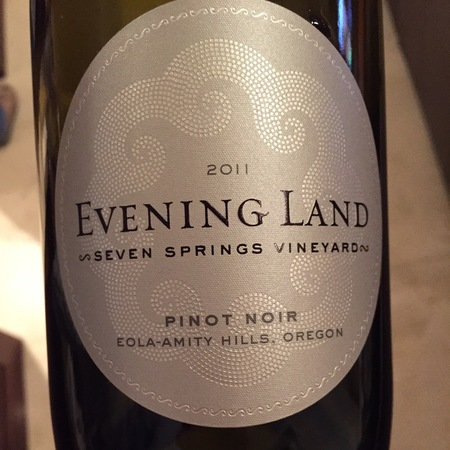 Evening Land Vineyards Seven Springs Vineyard Pinot Noir 2014