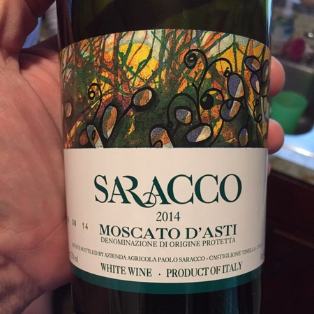 Saracco Moscato d'Asti  2014 (375ml)