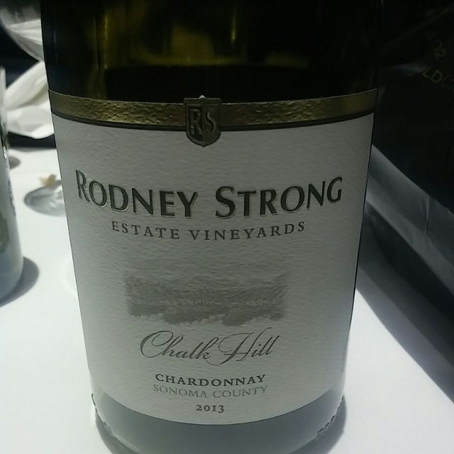 Estate Bottled Chalk Hill Chardonnay 2013