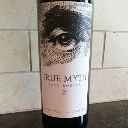 True Myth Winery Paso Robles Cabernet Sauvignon 2014