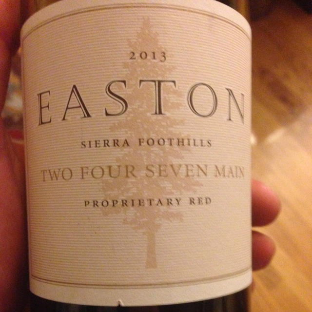 Two Four Seven Main Proprietary Red Blend NV