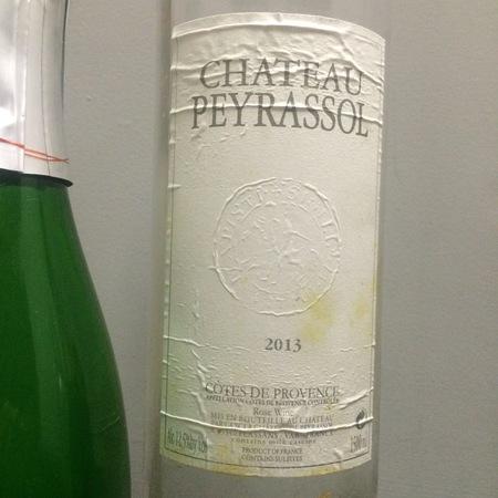 Peyrassol Chateau Peyrassol Côtes de Provence Rosé Blend  2016