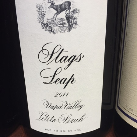 Stags' Leap Winery Napa Valley Petite Sirah 1997