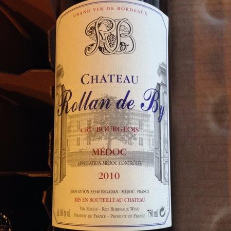 Château Rollan de By Médoc Red Bordeaux Blend 2010