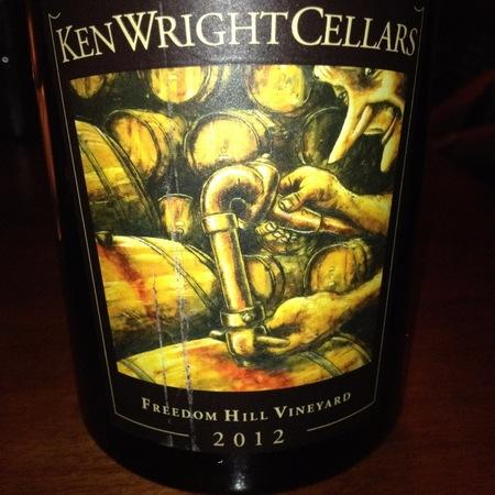 Ken Wright Cellars Freedom Hill Vineyard Pinot Noir 2014