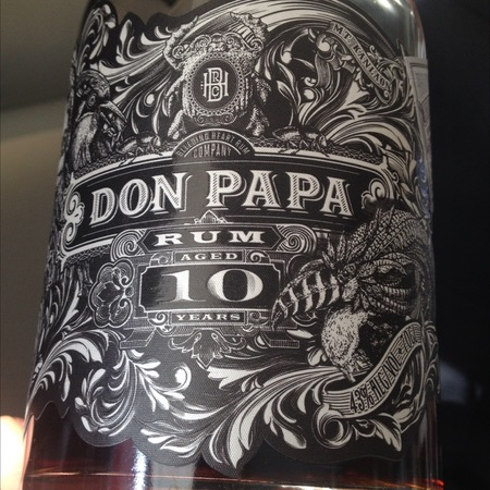 Bleeding Heart Rum Co.  Don Papa Aged 10 Years Rum  NV