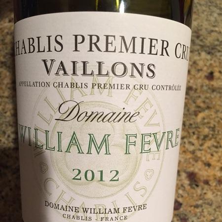 Domaine William Fèvre Vaillons Chablis 1er Cru Chardonnay 2014