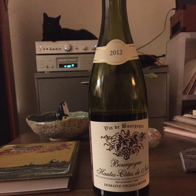 Bourgogne Hautes Côtes de Nuits Pinot Noir 2012