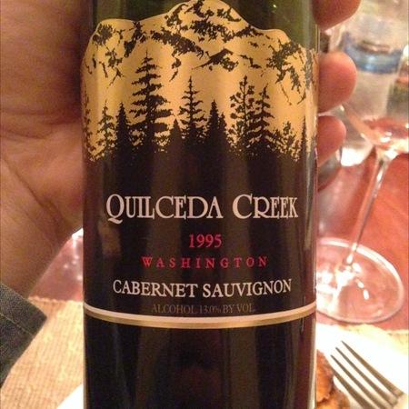 Quilceda Creek Washington Cabernet Sauvignon 1995