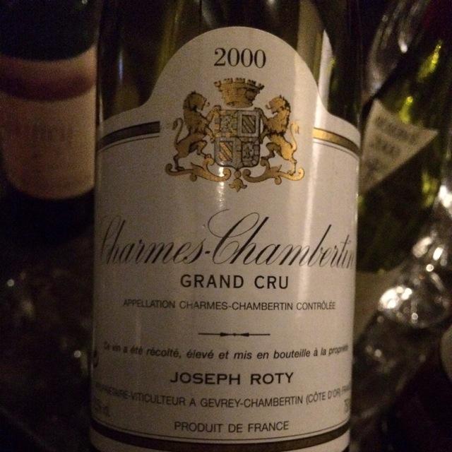 Cuvée de Très Vieilles Vignes Charmes-Chambertin Grand Cru Pinot Noir 2000