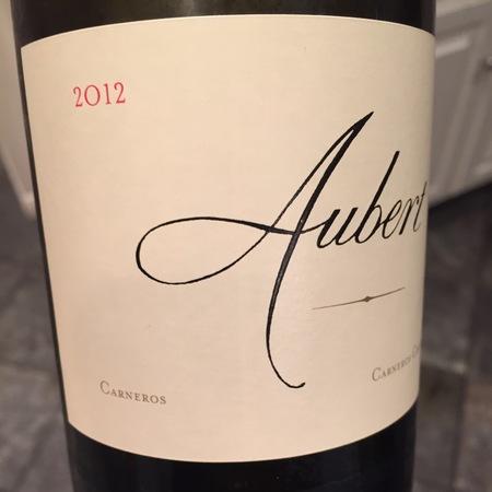 Aubert Carneros Chardonnay 2012