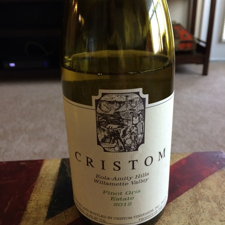 Cristom Estate Eola-Amity Hills Pinot Gris  2016