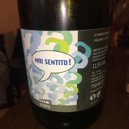 La Staffa Mai Sentito Sparkling Verdicchio Blend  NV