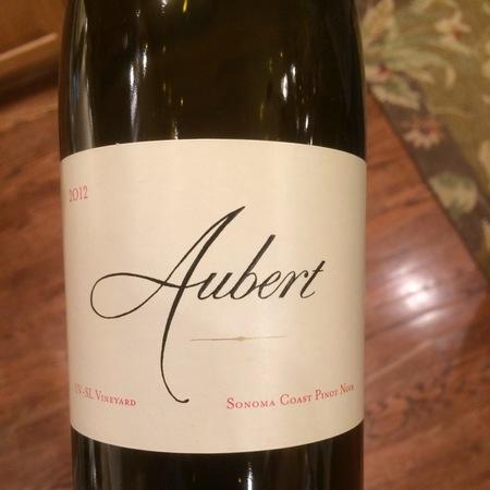 Aubert UV-SL Vineyard Pinot Noir 2012