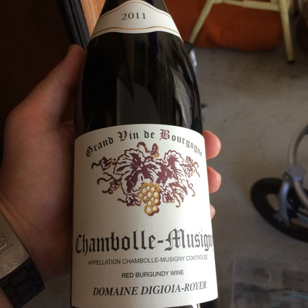Digioia-Royer Chambolle-Musigny Pinot Noir 2011