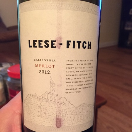 The Other Guys Leese-Fitch California Merlot 2014