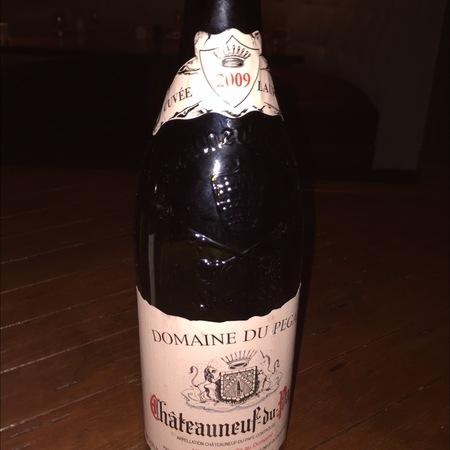 Domaine du Pegau Cuvée Laurence Châteauneuf-du-Pape Red Rhone Blend 2012